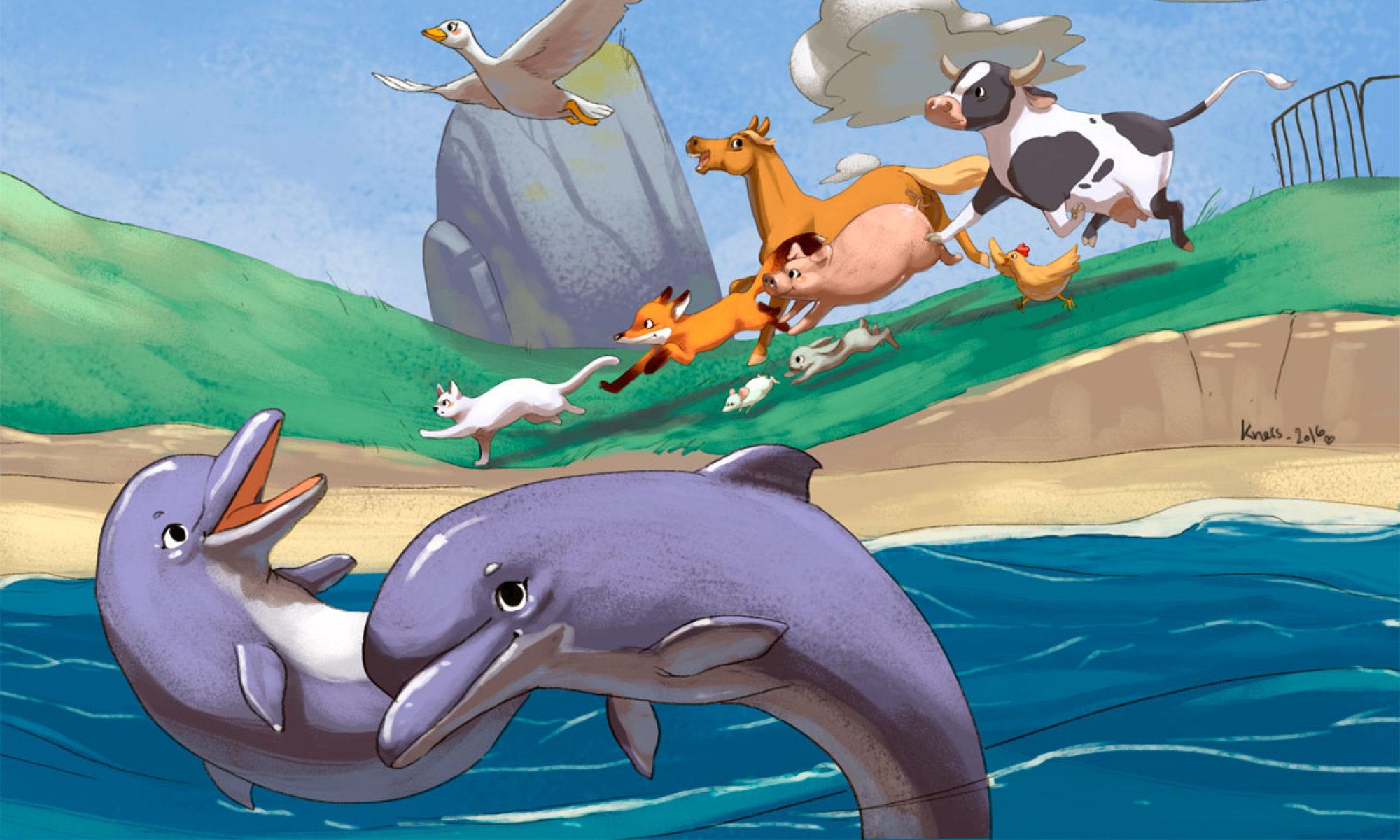illustration animaux numérique