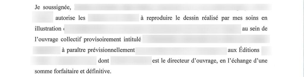 Contrat edition : definition