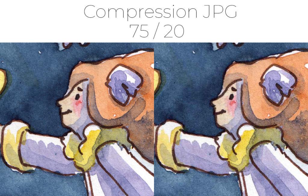 Dpi Resolution Et Compression D Images Kness