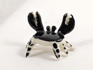 Crabe ceramique miniature
