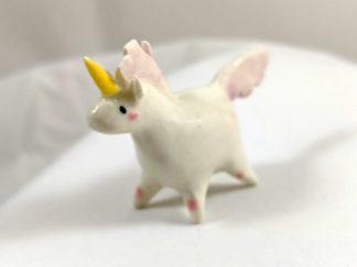 Licorne Ceramique Lilas