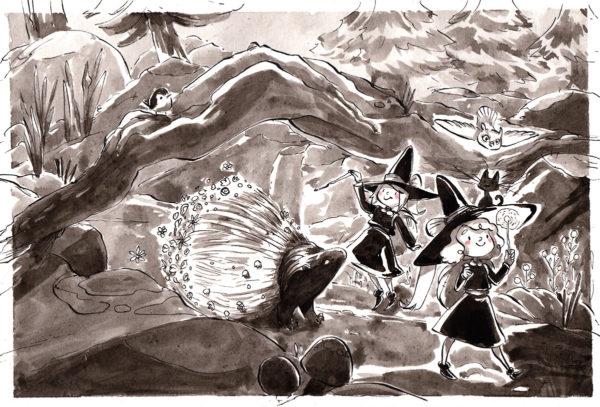 inktober dessin porc epic porcupine drawing