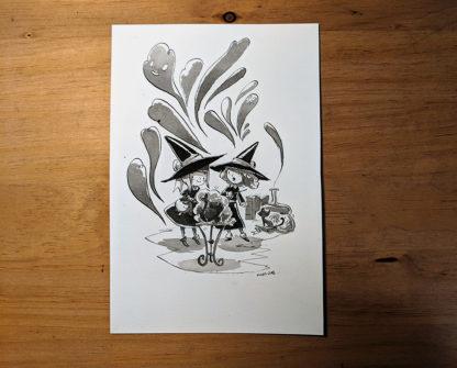 inktober dessin kangaroo rat