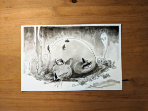 inktober dessin chinchilla