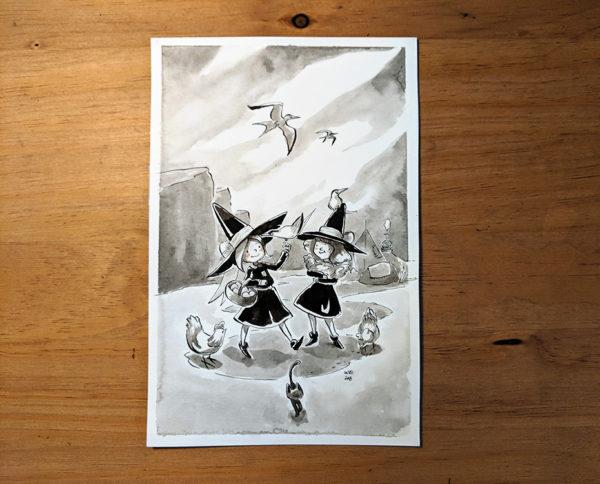 inktober dessin tern stern drawing