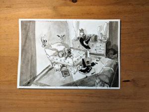 inktober dessin marmoset