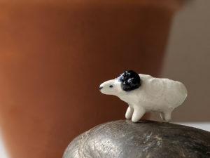 mini bélier céramique