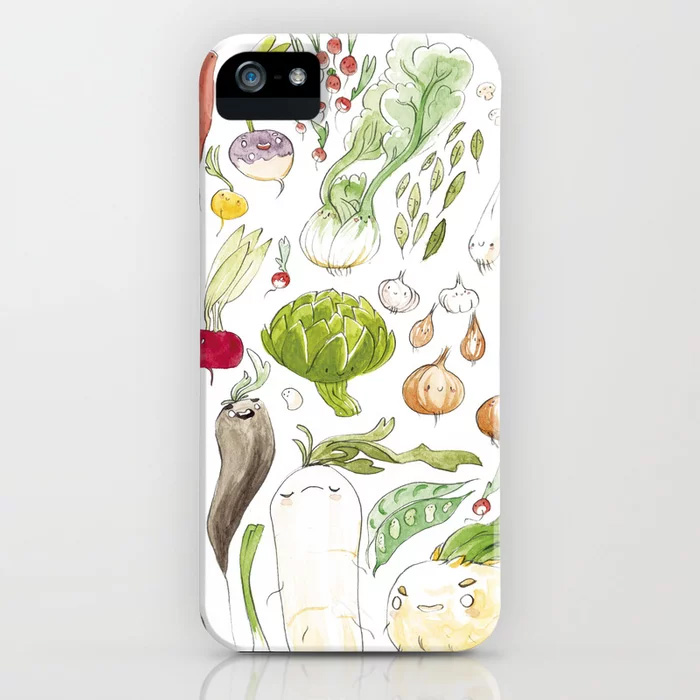 illustration cuisine phone case
