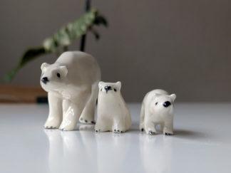 ours polaire ceramique