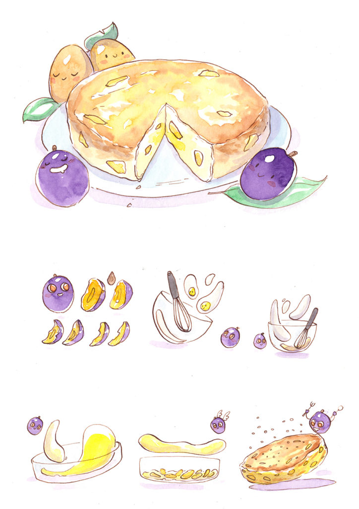 illustration cuisine original