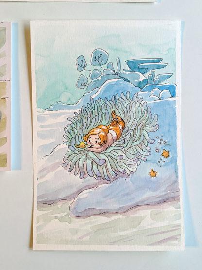 Sirene Poisson Clown Anemone