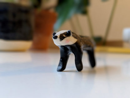 ceramic badger