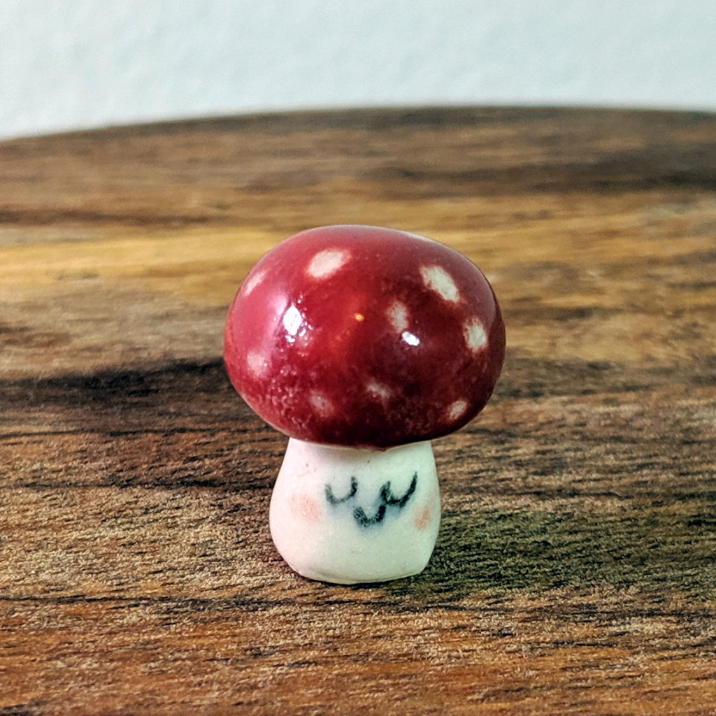 champignon ceramique