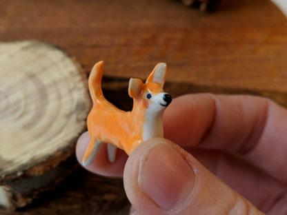 orange dog porcelain