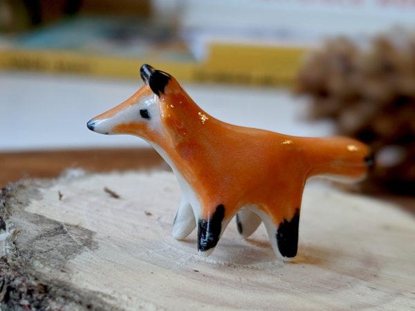 mini renard roux