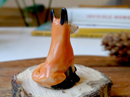ceramic red fox