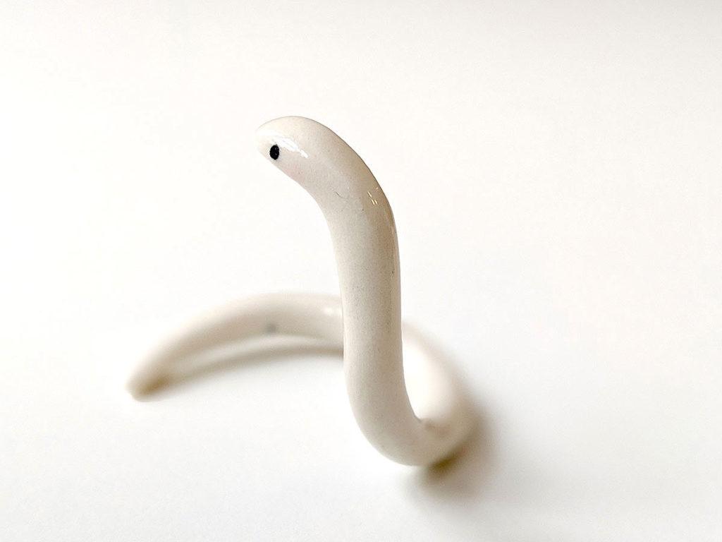 ceramic snake