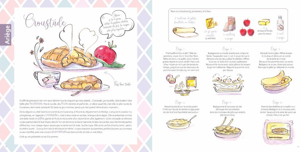 recette illustree croustade dessert sud ouest