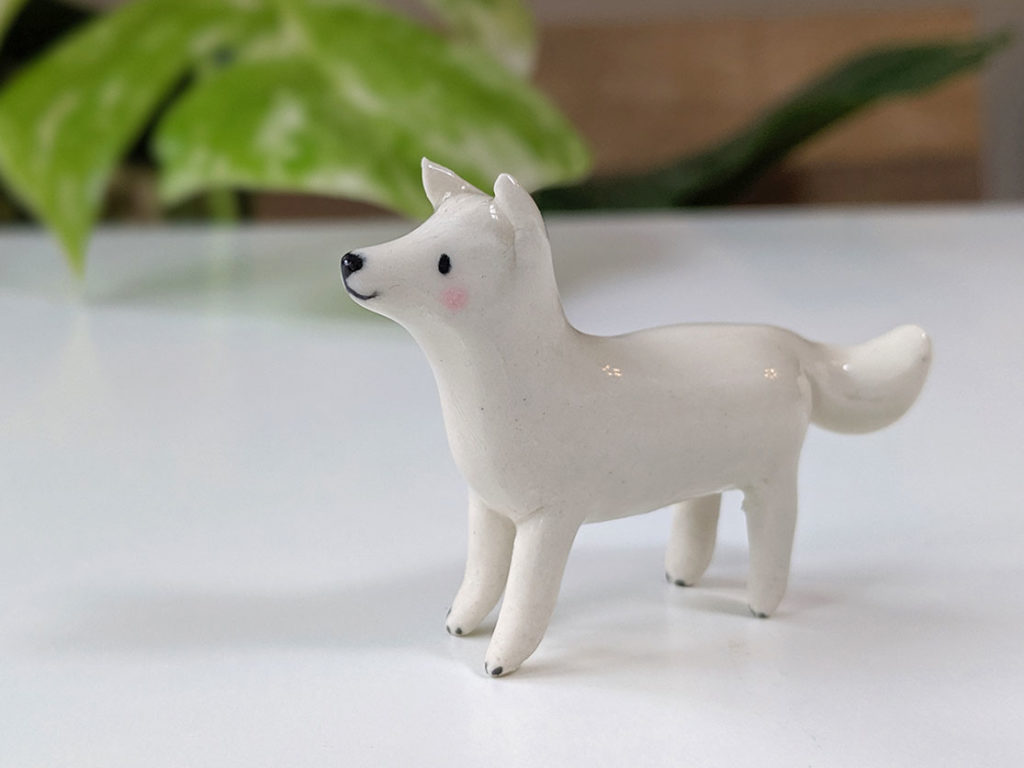 samoyede ceramique