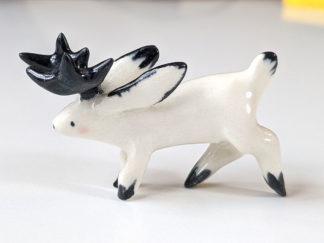 jackalope porcelaine