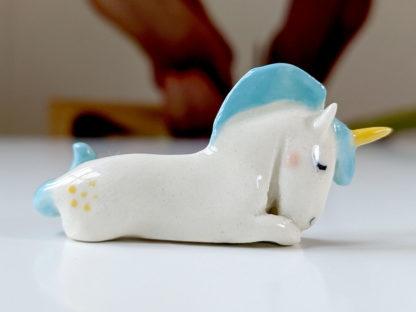 licorne porcelaine