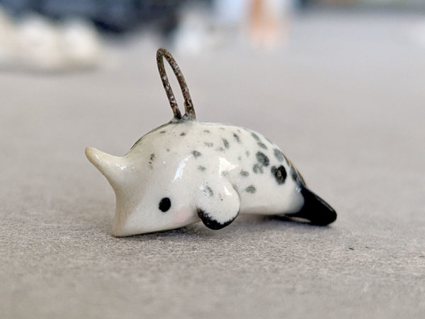 narwhal pendent