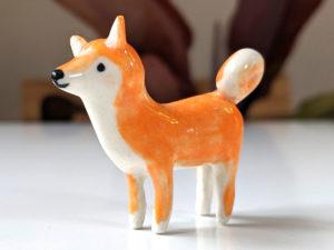 Shiba Inu porcelaine
