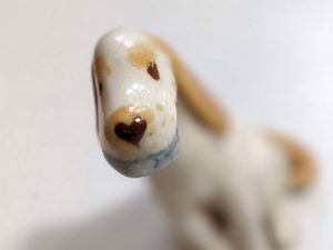 cocker spaniel dog figurine