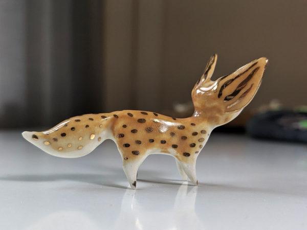 Fennec Ceramique et or