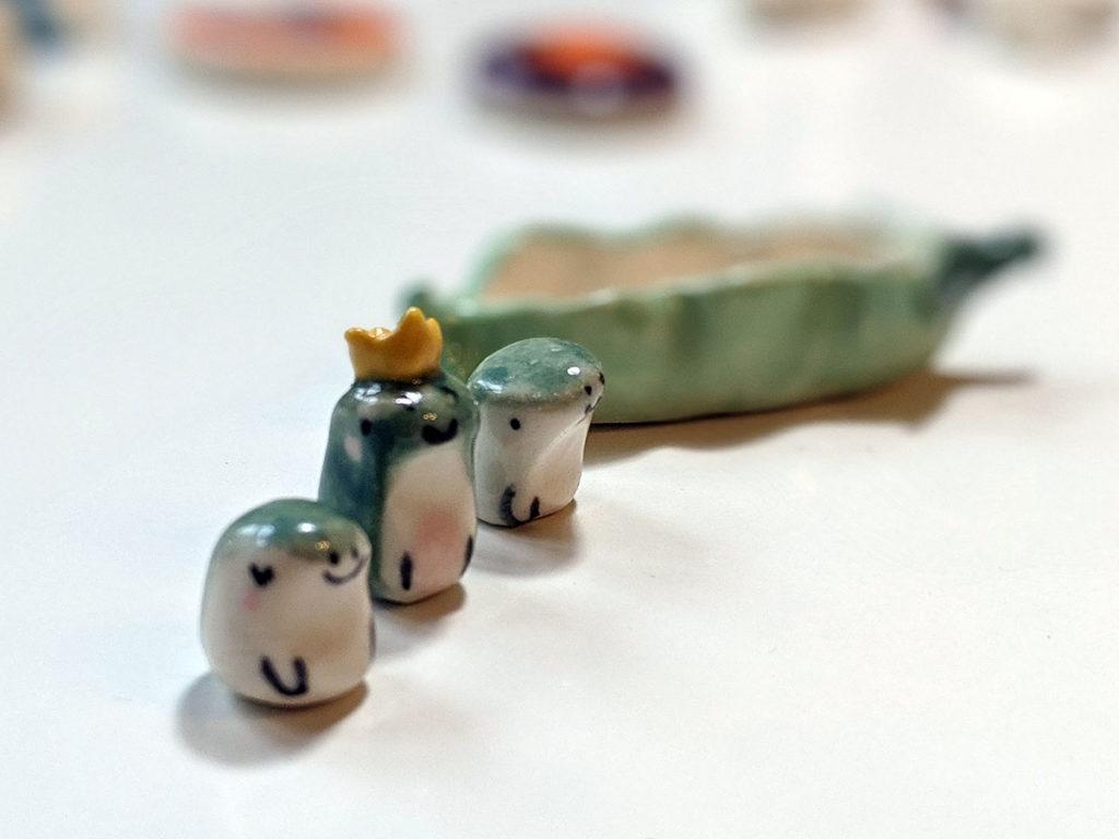grenouilles ceramiques