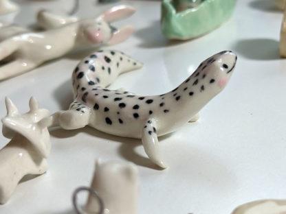 ceramic leopard gecko