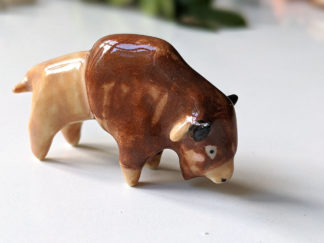 bison porcelaine