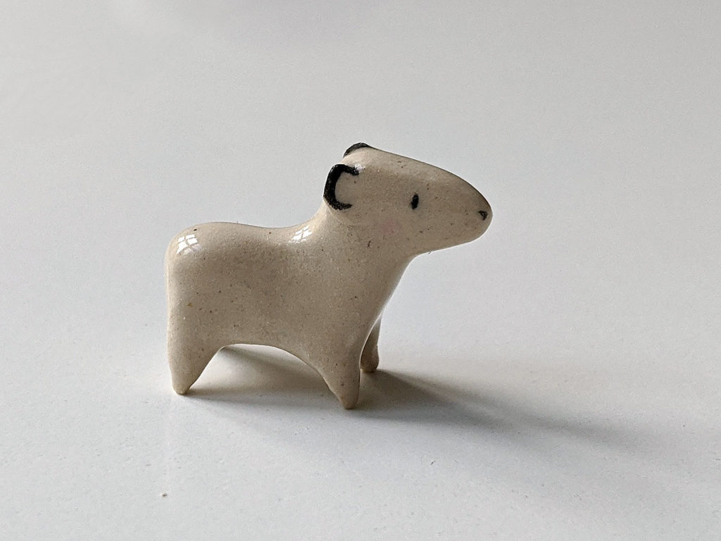 porcelaine capybara