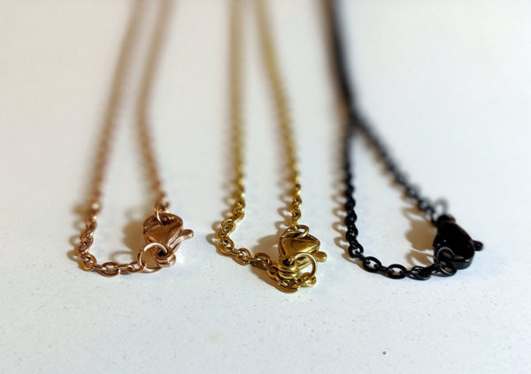 chaines necklaces