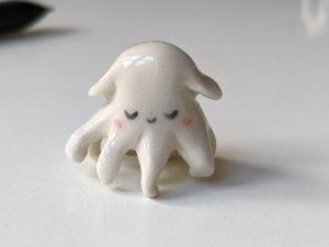 Pieuvre dumbo porcelaine