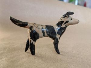 chien céramique