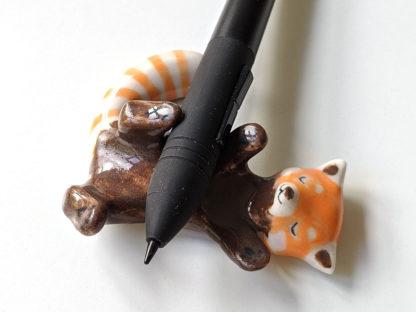 panda roux porcelaine