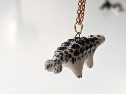 ankylosaure pendentif