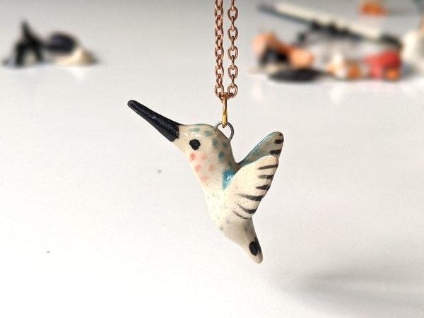 pendentif colibri
