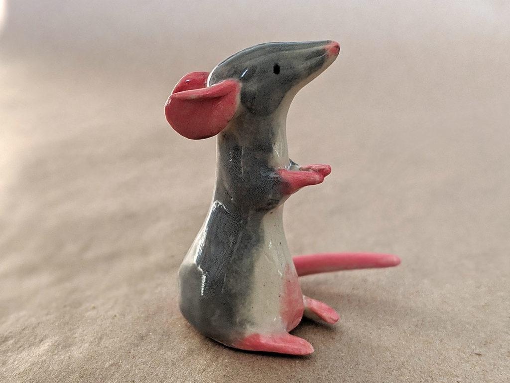 rat ceramique