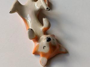 Shiba Inu Porcelain Holder