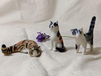 chats porcelaine