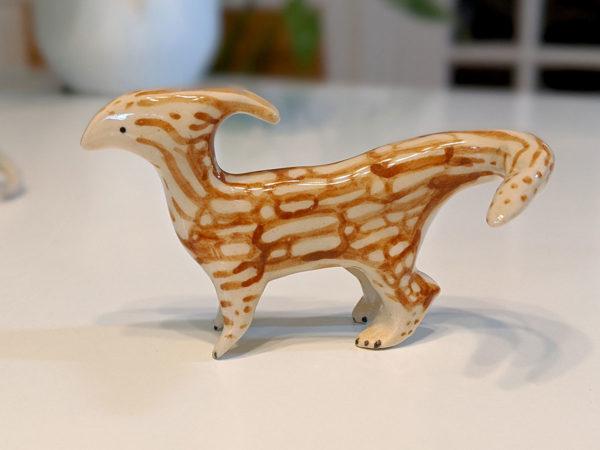 parasaurolophus porcelaine