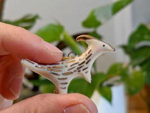 pendentif parasaurolophus pendant