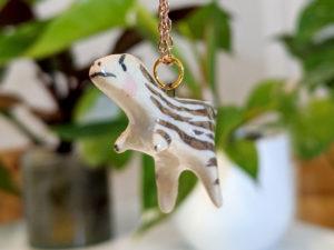 tyrannosaurus pendant