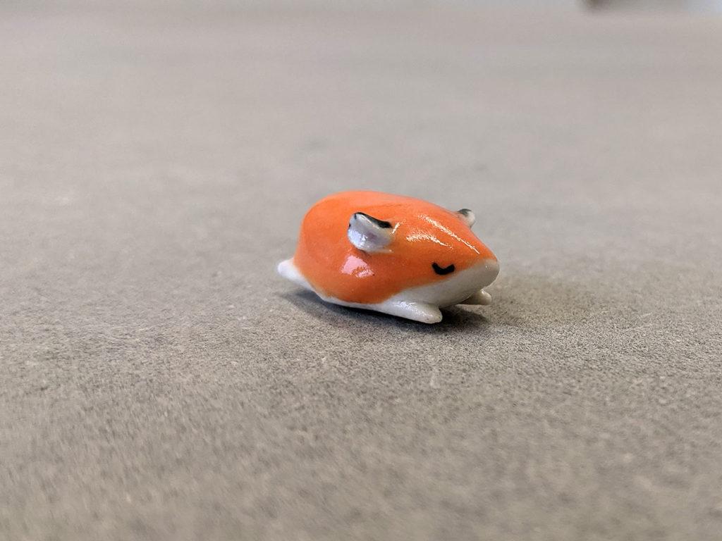 hamster porcelaine