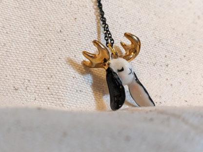 jackalope pendant