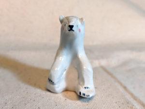 ours polaire porcelaine