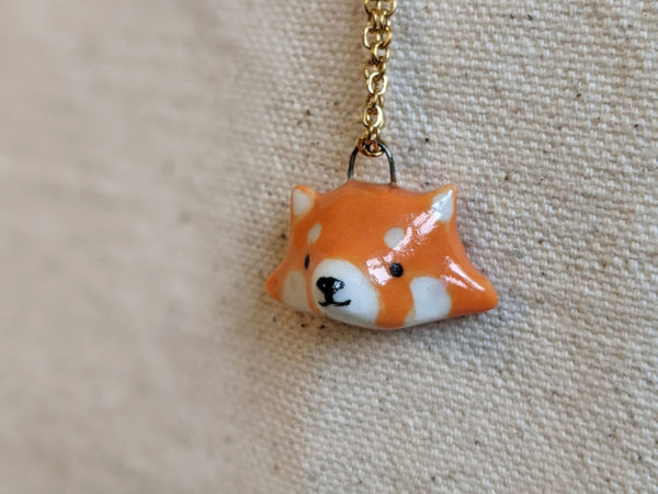 red panda pendant
