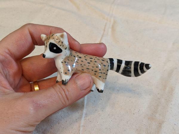 Ceramics Raccoon